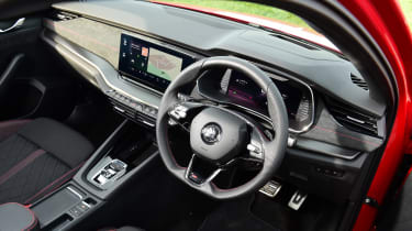 Skoda Octavia vRS Estate steering wheel