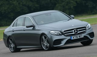 Mercedes E-Class AMG Line front driving
