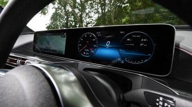 Mercedes EQC SUV widescreen display