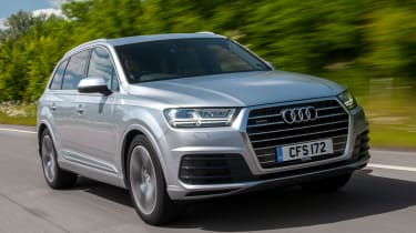 Audi Q7 S Line front tracking