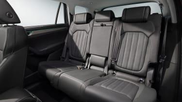 2021 Skoda Kodiaq - rear seats