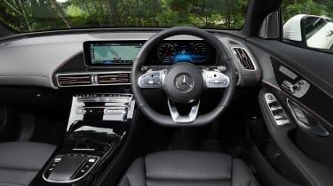 Mercedes EQC SUV interior
