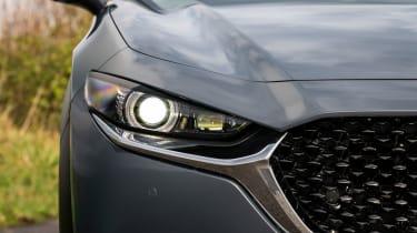 Mazda CX-30 SUV headlights