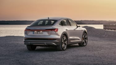 Audi e-tron Sportback rear end