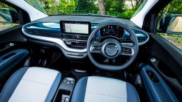 Fiat 500 electric dashboard