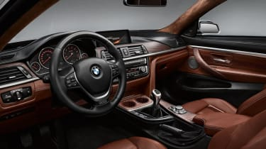 BMW 4 Series Coupe 2013 interior detail