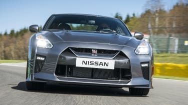The only criticism you can level against the GT-R in performance terms is that it's slightly too heavy.