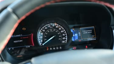 Ford Ranger Thunder - dial cluster wide view