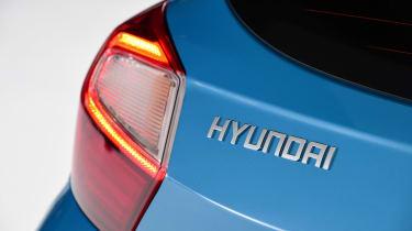 2020 Hyundai i10 - Hyundai badge