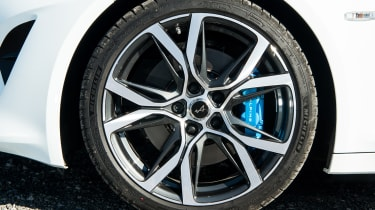 Alpine A110 coupe alloy wheel