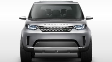 Land Rover Discovery SUV 2015 front