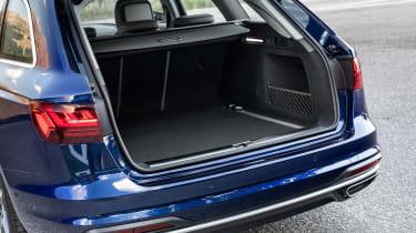 Audi A4 Avant estate boot