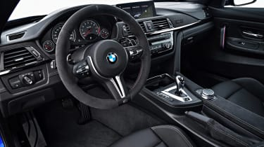 The CS is about more than raw power though: you also get an improved interior, suspension setup and gearbox
