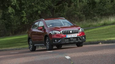 The Suzuki SX4 S-Cross is a crossover and a rival for the company's own Vitara as well as outsiders like the Nissan Qashqai