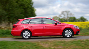 The Leon ST comes in the same petrol, diesel and high-performance Cupra versions as the hatchback