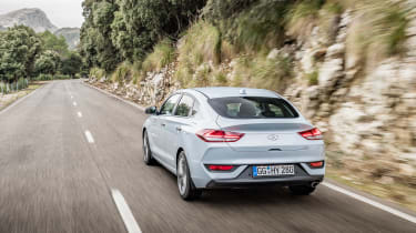 The i30 Fastback is powered by a choice of 1.0 or 1.4-litre petrol engines