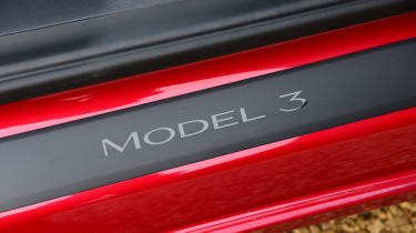 Tesla Model 3 saloon door sills