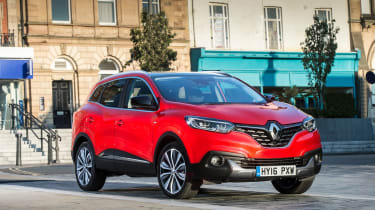 The Renault Kadjar is the sister car to the Nissan Qashqai, but a longer warranty and bigger boot means its our preference