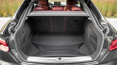 Boot space exactly matches the 4 Series Grand Tourer at 480 litres