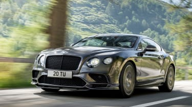 The outgoing Bentley Continental GT ends its production on a high with this Supersports model