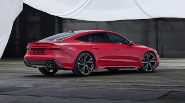 Audi RS7 static - rear
