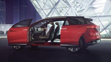 2021 Volkswagen ID. Roomzz - side view doors open