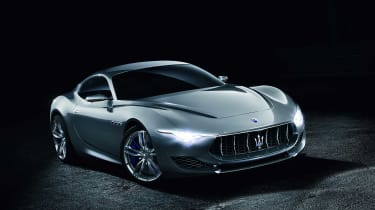The Maserati Alfieri 2+2 sports car should reassure fans of the brand it doesn't just make SUVs nowadays