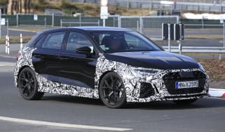 2021 Audi RS3 prototype driving