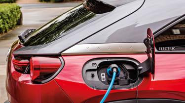 Mazda MX-30 SUV charging flap