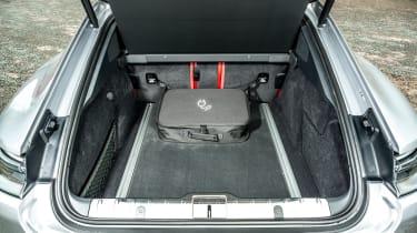 Porsche Panamera hatchback charging cable