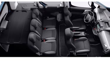 Boot space ranges from 675 litres with the seats in place