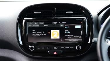 Kia Soul EV hatchback centre console