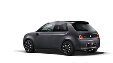 Honda e rear grey
