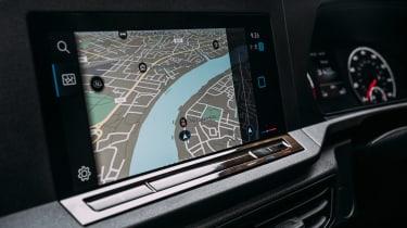 Volkswagen Caddy MPV upgraded screen
