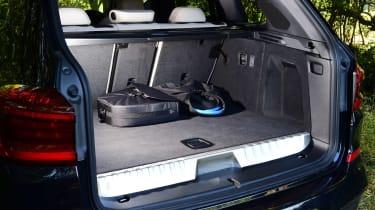 BMW X3 SUV boot
