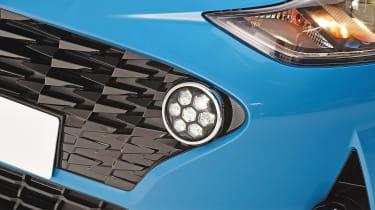 2020 Hyundai i10 daytime running light