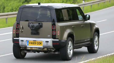 2021 Land Rover Defender 110 - V8 prototype - rear view