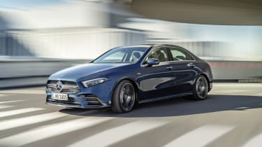 Mercedes-AMG A 35 Saloon - three quarter driving