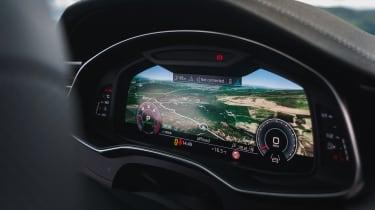Audi A6 Avant digital dials