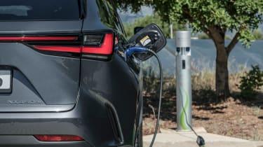 Lexus NX SUV charging
