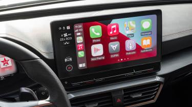 Cupra Formentor SUV review dashboard