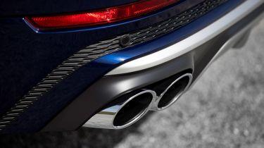 Audi SQ8 SUV exhaust