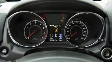 Mitsubishi ASX SUV instruments