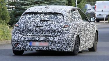 2021 Peugeot 308 prototype - rear view