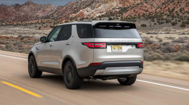 The absence of a split-folding tailgate has disappointed some, but Land Rover fits a fold-out seat to compensate