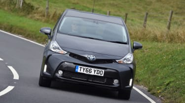 Toyota Prius+ MPV front driving