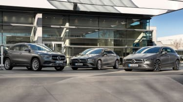 Mercedes CLA and GLA plug-ins - group