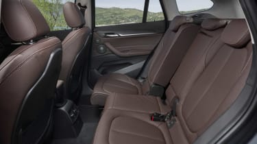 2019 BMW X1 SUV - rear seating