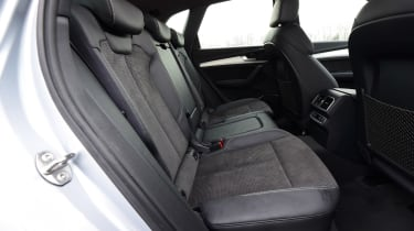Audi Q5 S line rear seat