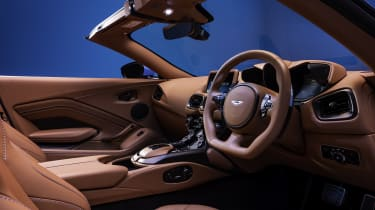 2020 Aston Martin Vantage Roadster - interior